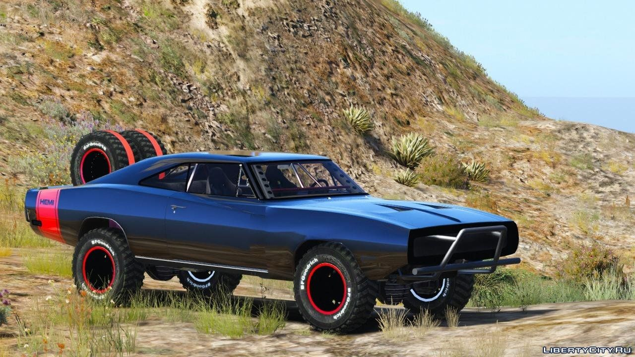 Dodge Charger Off-Road Fast & Furious 7 v1.0 for GTA 5