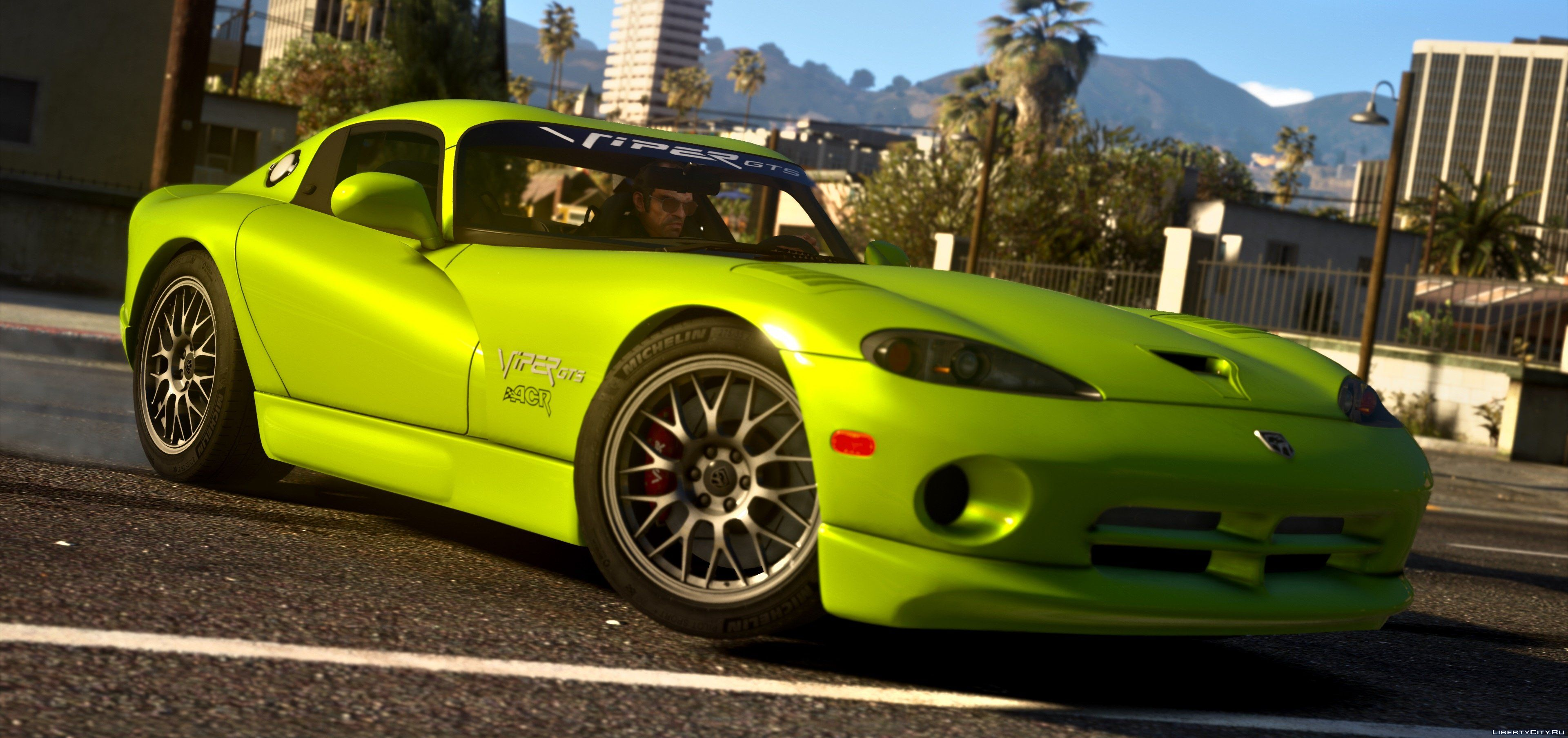 1999 Dodge Viper Gts Acr Add On Replace Tuning Template 1 4 For Gta 5