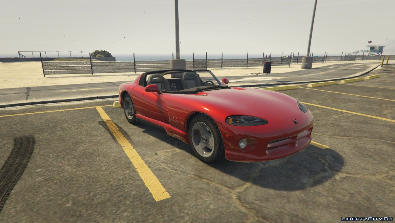 1992 dodge chrysler viper rt 10 1 0 for gta 5. Black Bedroom Furniture Sets. Home Design Ideas