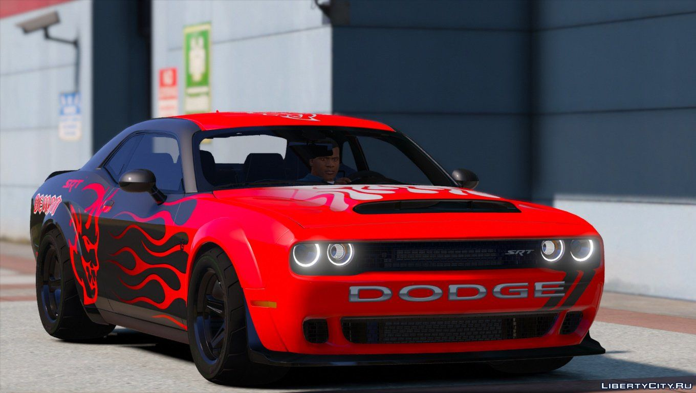 2016 Dodge Challenger Hellcat Wallpaper >> Dodge for GTA 5: 124 Dodge car for GTA 5 / Page 2