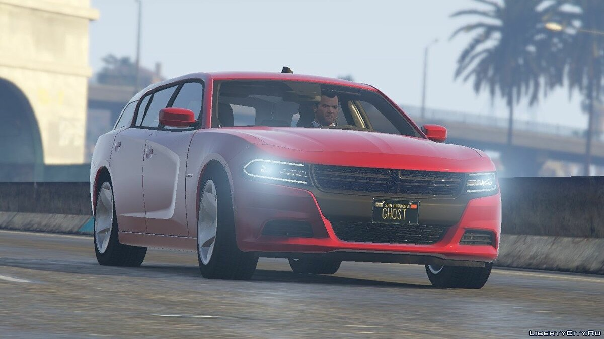 Dodge car 2018 Dodge Magnum [Replace] 1.0 for GTA 5