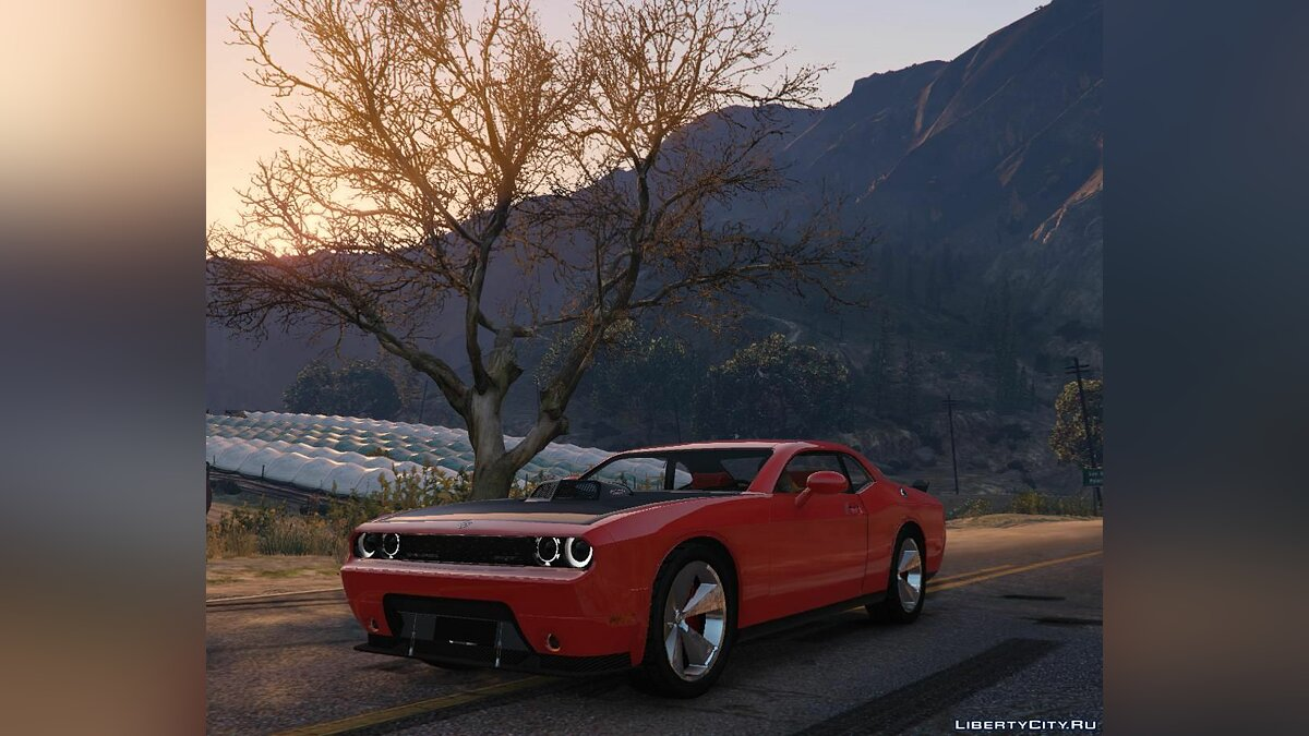 Dodge car 2008 Dodge Challenger SRT 10 Concept 1.0 for GTA 5