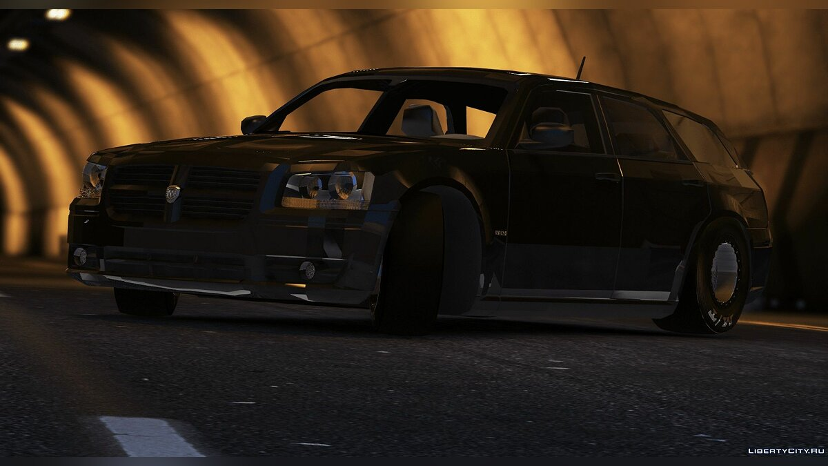 Dodge car Dodge Magnum Drag [FiveM / Replace] 1.0 for GTA 5