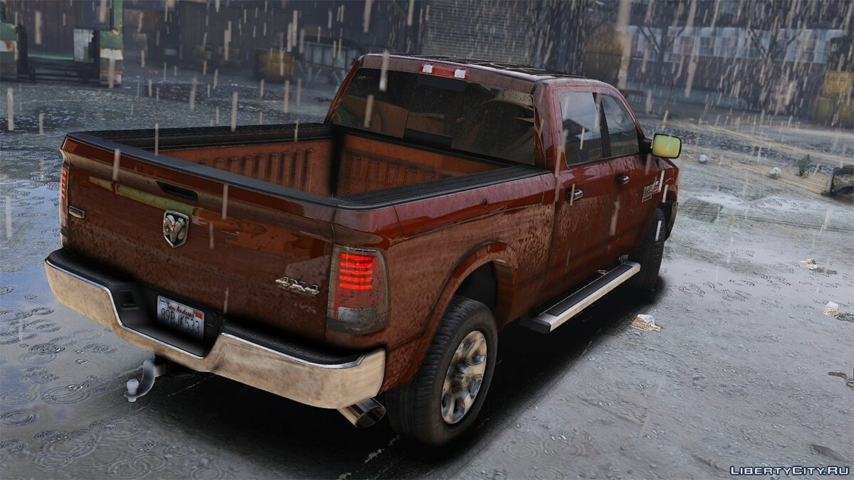 Dodge car 2015 Dodge RAM 2500 [Add-On | Tuning | Template] 1.0 for GTA 5