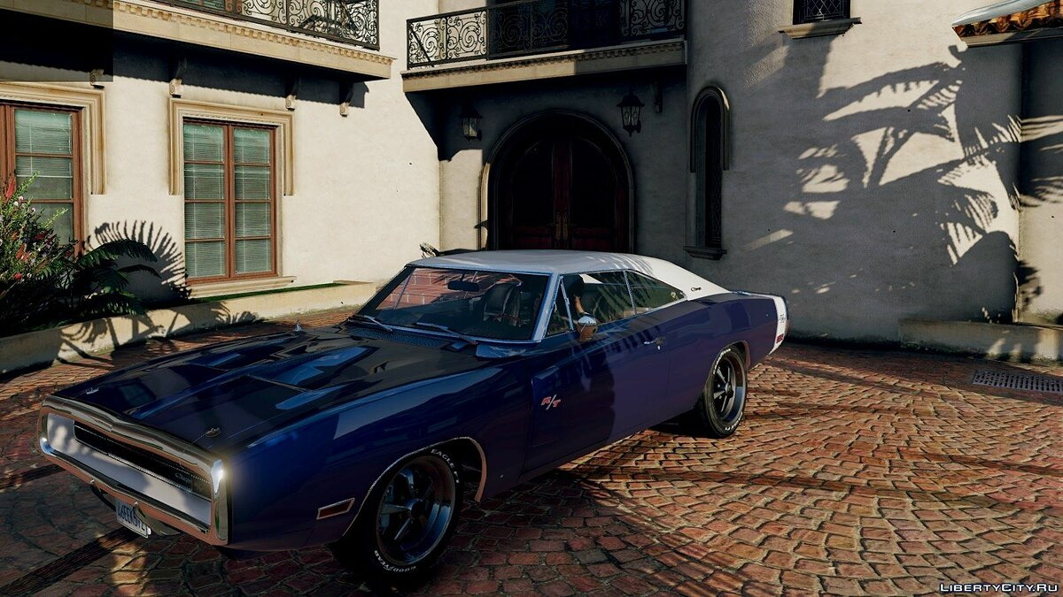 Dodge car 1970 Dodge Charger R / T [Tunable] 3.2 for GTA 5