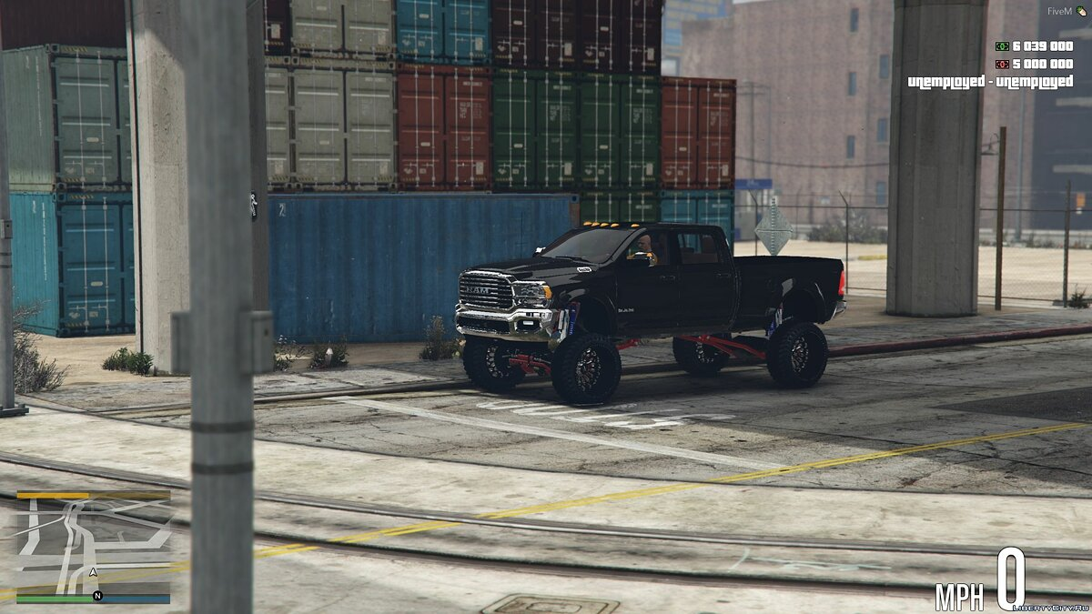 Dodge car 2019 Dodge Ram 3500 HD [Add-On] 1.0 for GTA 5