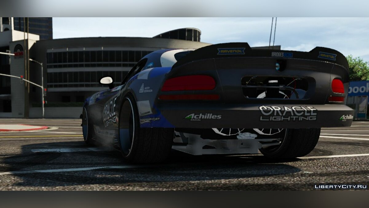 Dodge car Formula Drift Dodge Viper Dean Kearney 2.0 for GTA 5