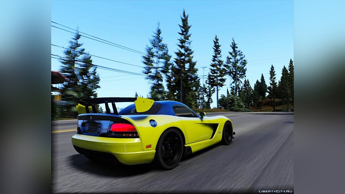 Dodge car Dodge Viper 2008 [Add-On | Extras] 1.0 for GTA 5