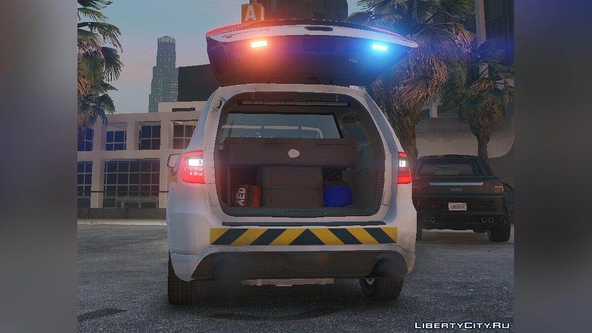 Dodge car Dodge Durango SRT 2.0 [ELS] 2018 for GTA 5
