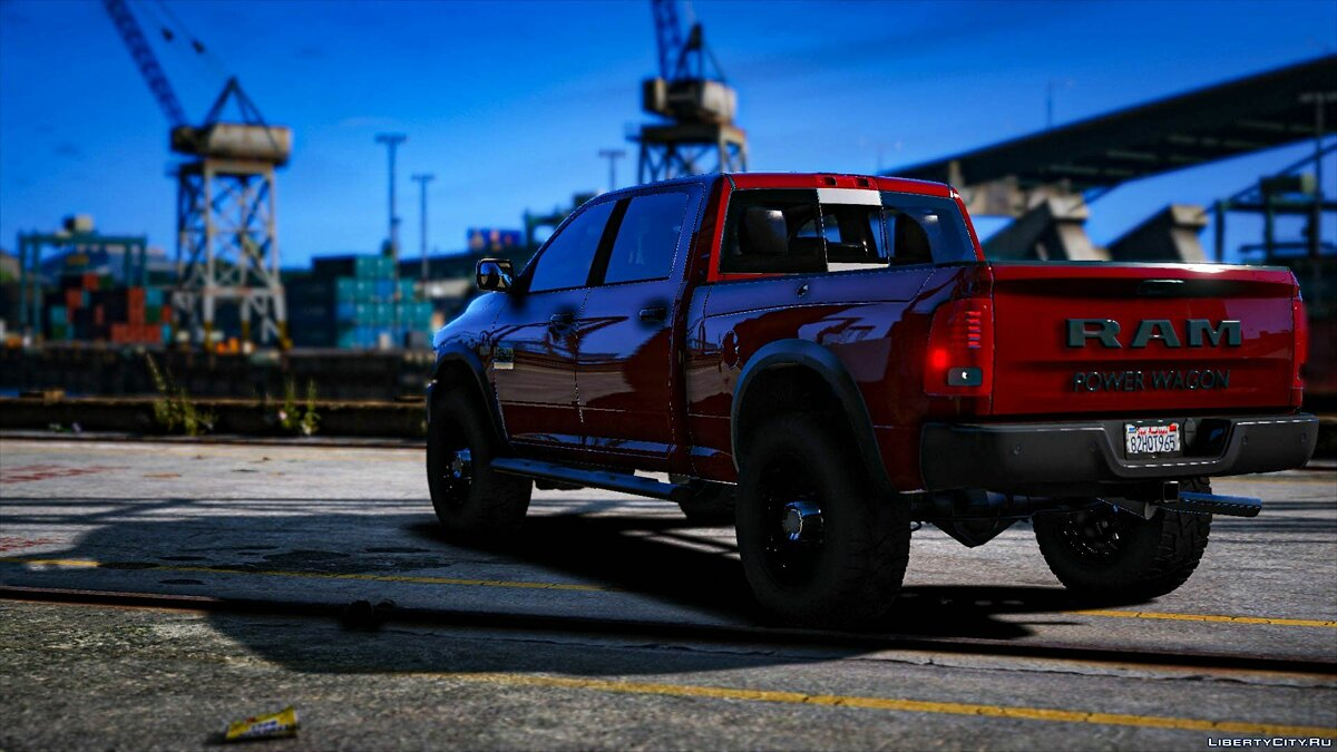 Dodge car Dodge Ram 2500 Power Wagon for GTA 5
