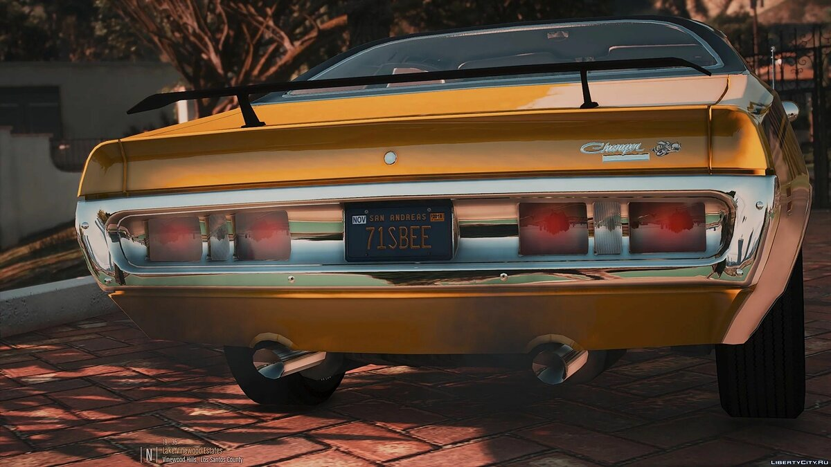Dodge car 1971 Dodge Charger Superbee [Add-On | Extras] 3.0 for GTA 5