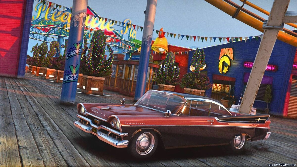 Dodge car 1957 Dodge Custom Royal Lancer [Add-On | Extras | LODs] 1.0 for GTA 5