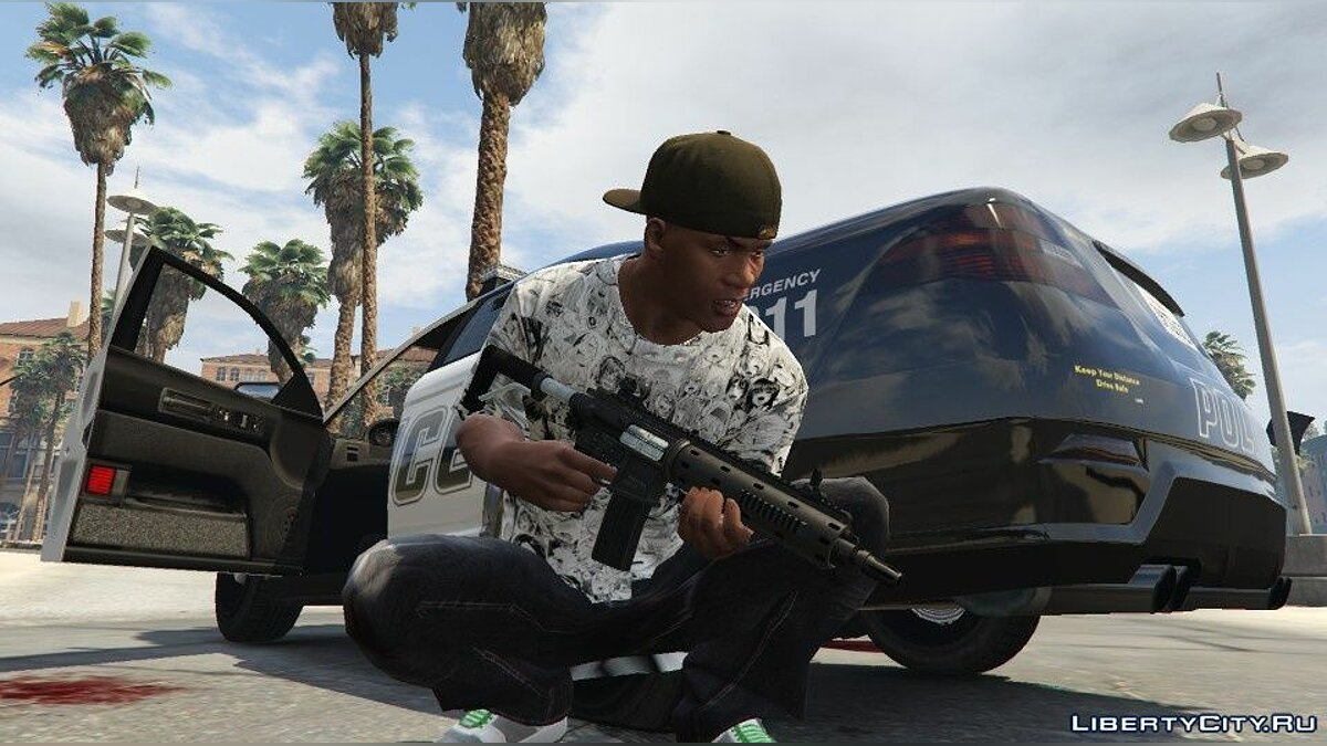 Pullovers and T-shirts Anime Style T-shirt for Franklin for GTA 5