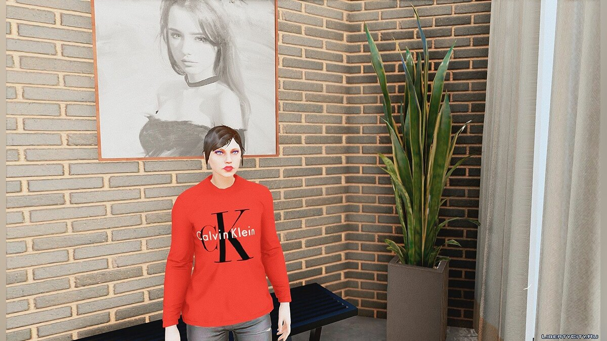 Pullovers and T-shirts Sweaters for Women for GTA 5