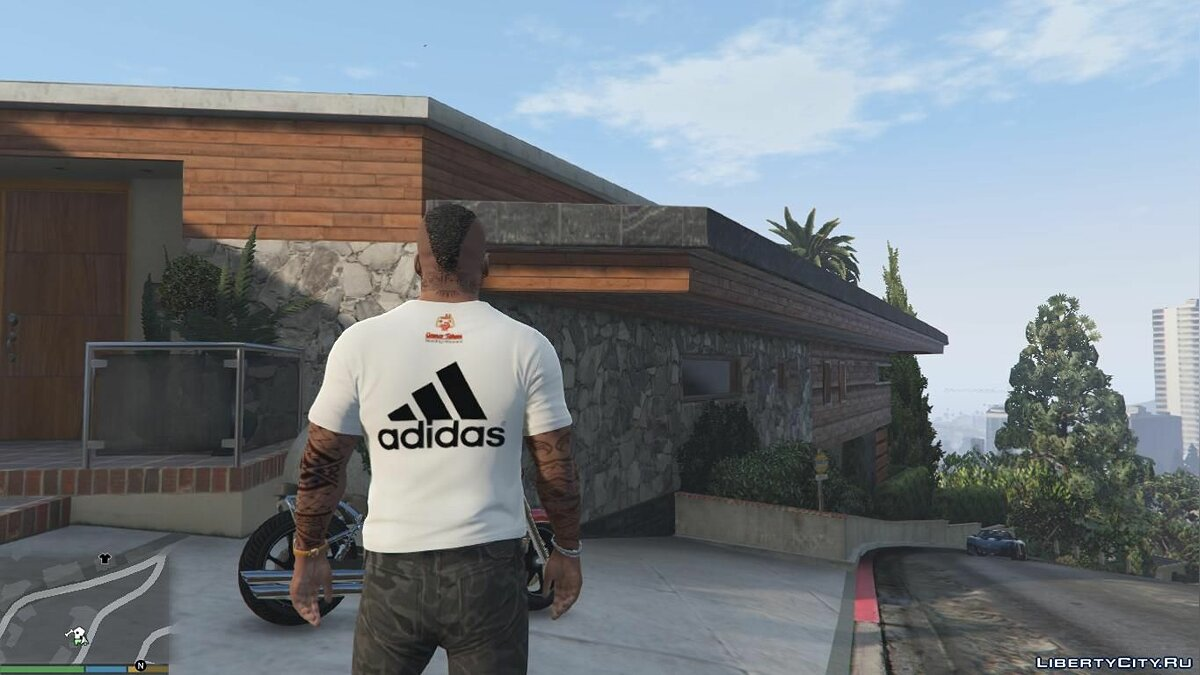 Pullovers and T-shirts T-shirt adidas for GTA 5