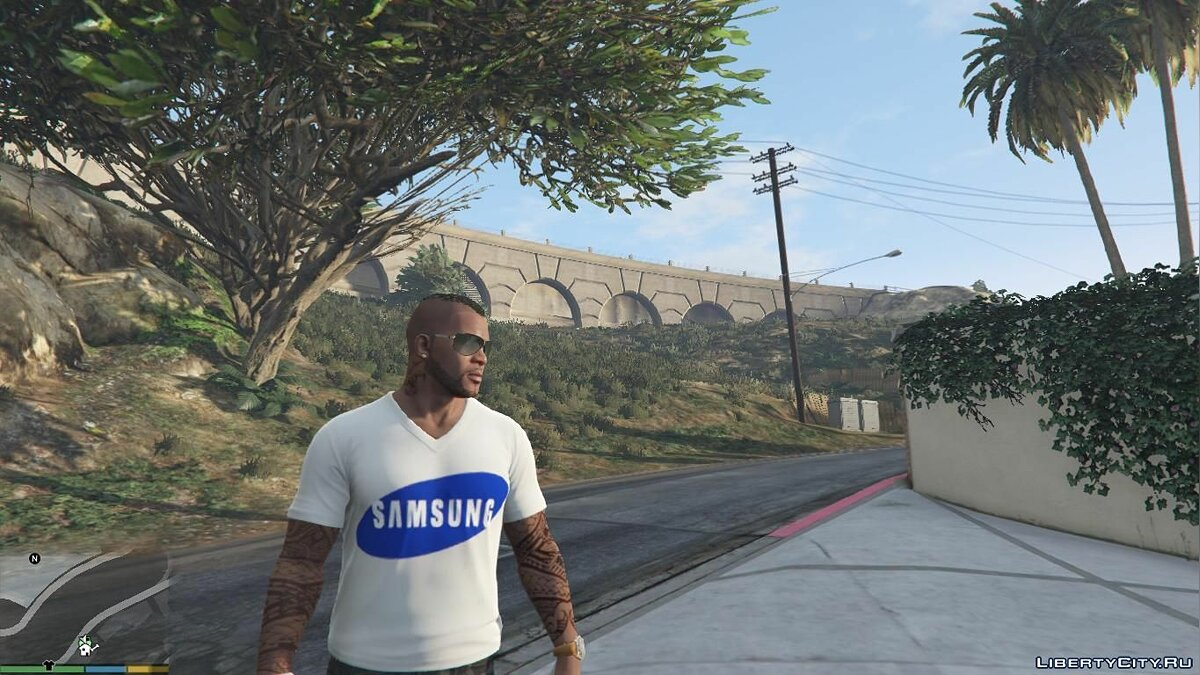 Pullovers and T-shirts T-shirt SAMSUNG for GTA 5
