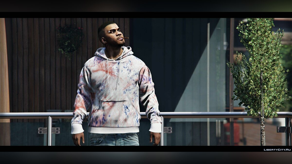 Pullovers and T-shirts Пак худи PALACE for GTA 5