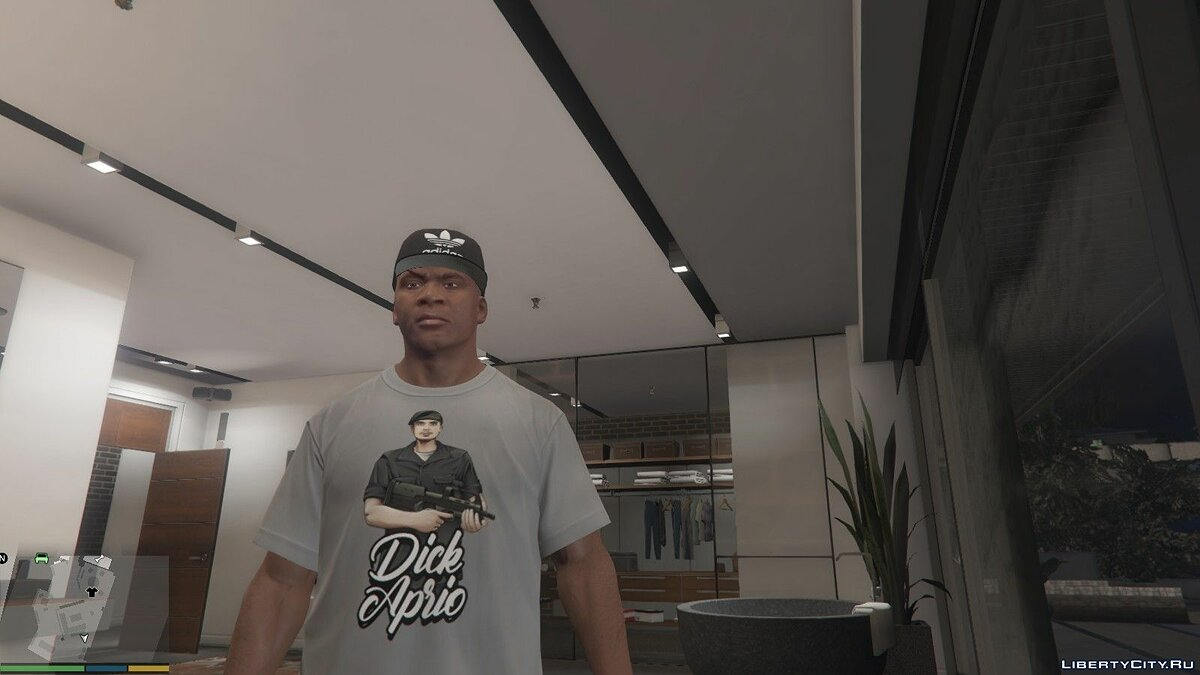 Pullovers and T-shirts Dick Aprio T-shirt for Franklin for GTA 5