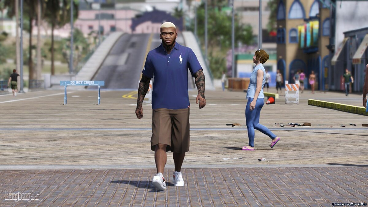 Pullovers and T-shirts New polo for Franklin for GTA 5