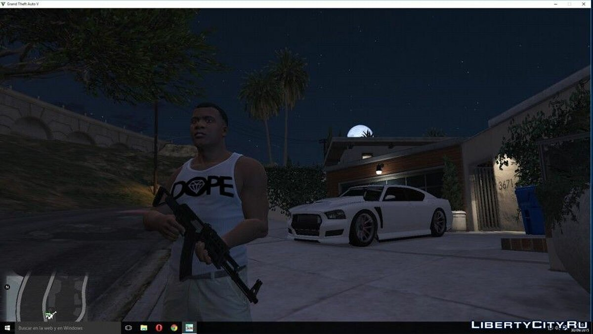 Pullovers and T-shirts DOPE Tank Top for Franklin for GTA 5