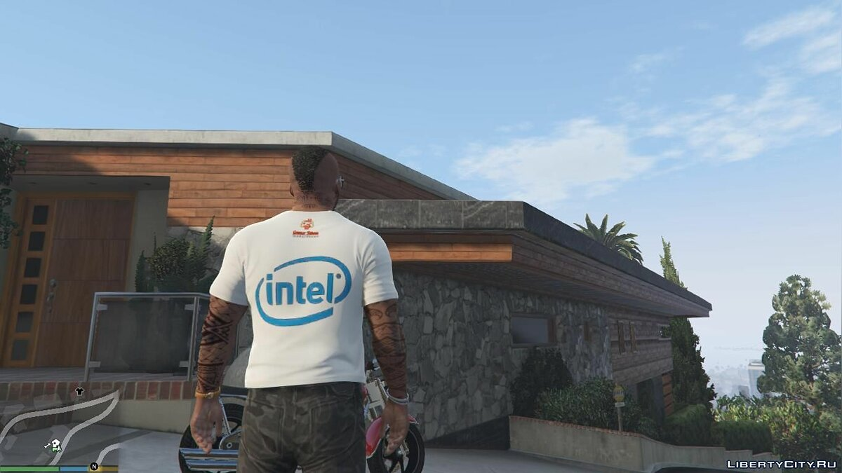 Pullovers and T-shirts Intel T-shirt for GTA 5