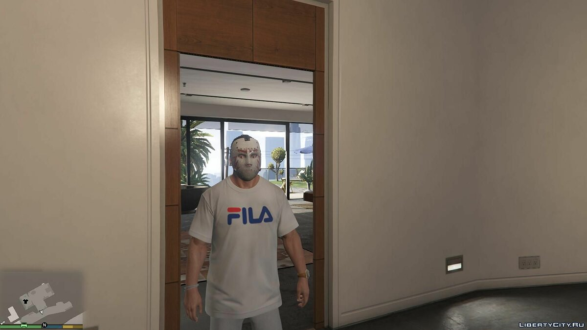 Pullovers and T-shirts T-shirt Fila [Replace] for GTA 5