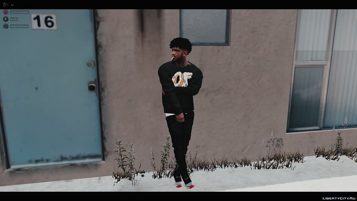 Pullovers and T-shirts Odd Future sweater for GTA 5