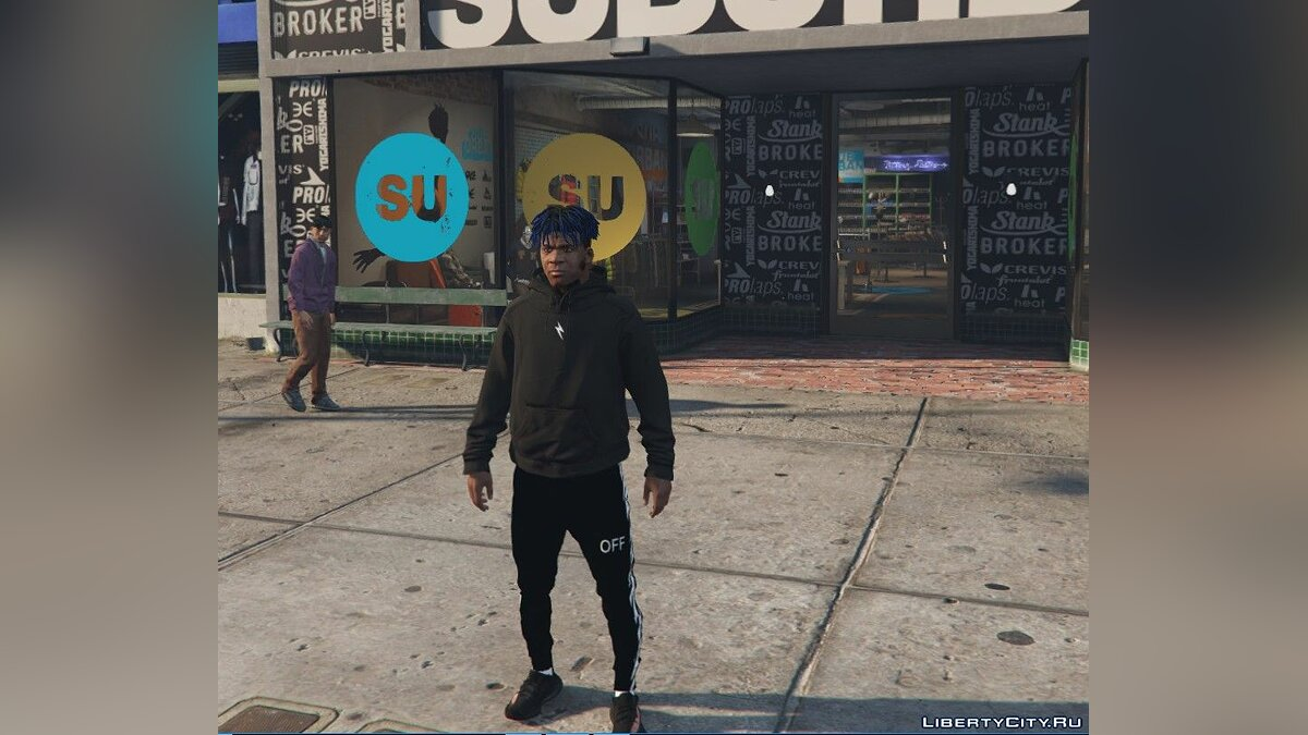 Pullovers and T-shirts Cleant Black Hoodie 1.0 for GTA 5