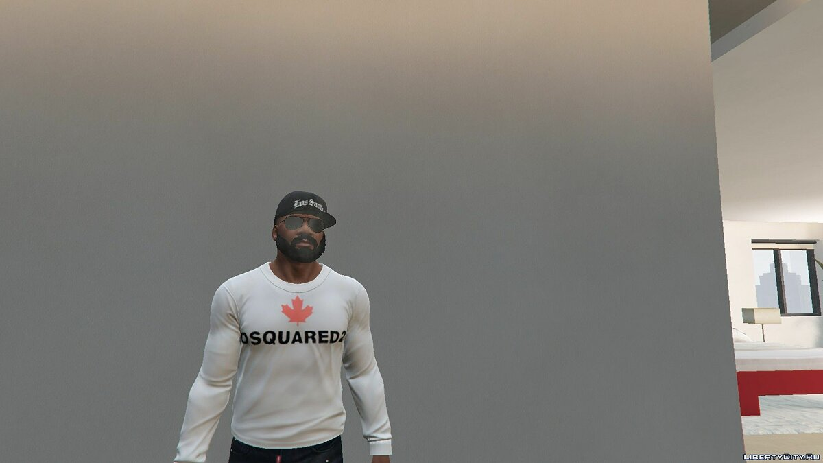 Pullovers and T-shirts Jacket from the brand Dsquared2 for GTA 5