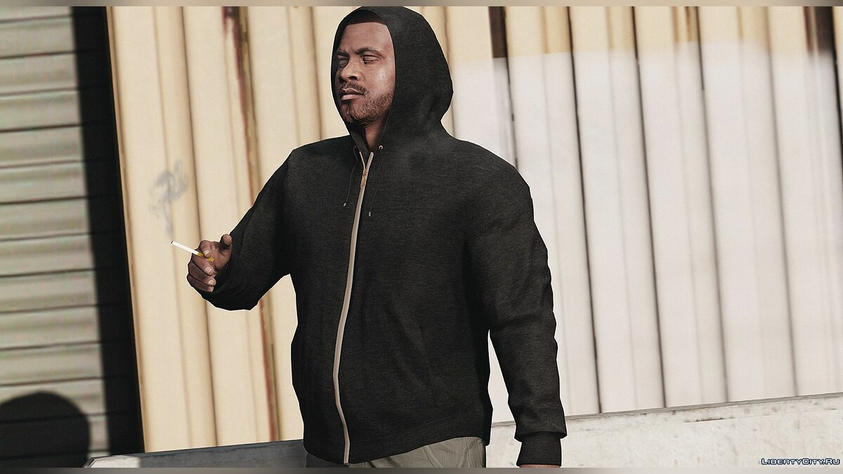 Pullovers and T-shirts Кофта с надетым капюшоном for GTA 5