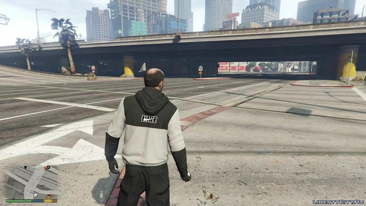 Pullovers and T-shirts Худи Nike для Тревора for GTA 5