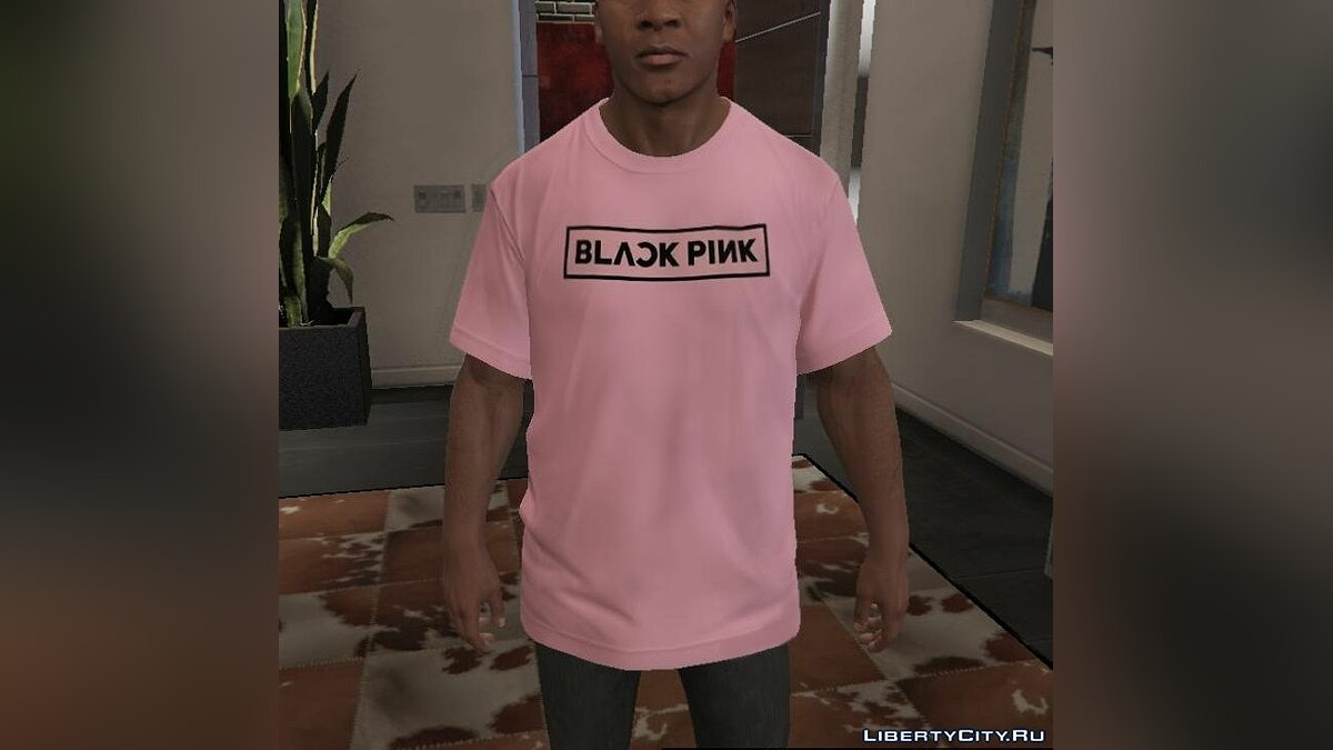 Pullovers and T-shirts BLACKPINK T-Shirt & Hoodies 1.1 for GTA 5