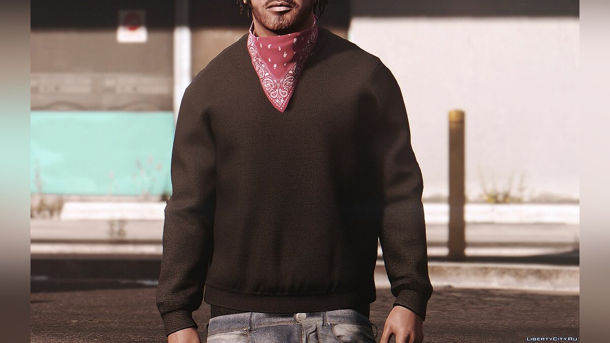 Pullovers and T-shirts Handsome Franklin Sweater for GTA 5