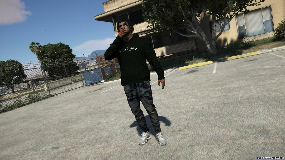Pullovers and T-shirts Худи War Ready Arabic for GTA 5