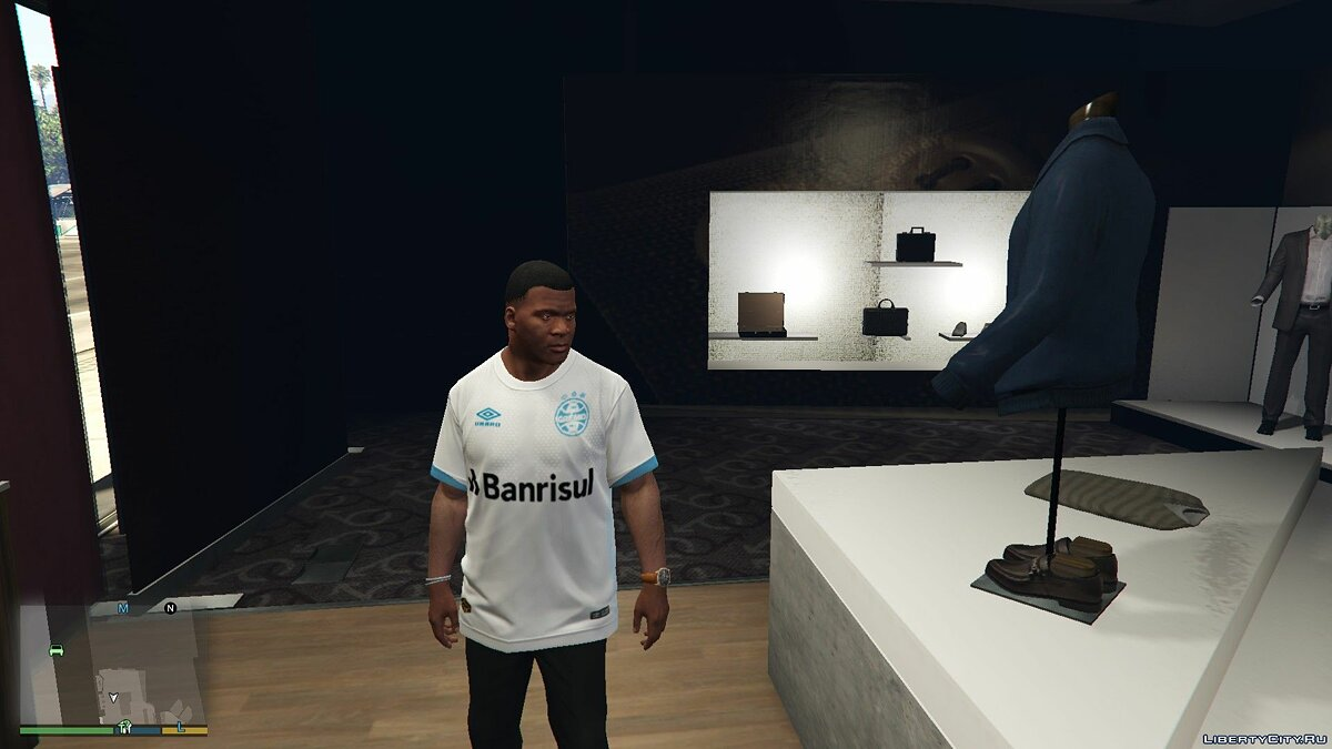 Pullovers and T-shirts Футболка Gremio 2019 for GTA 5