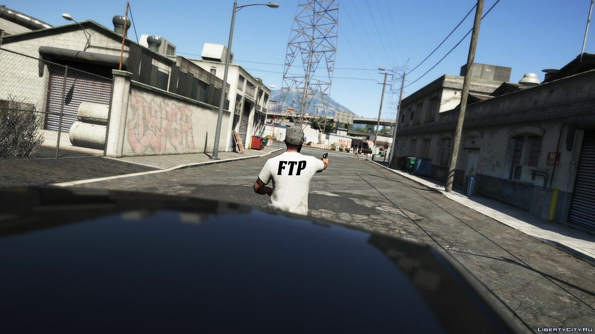 Pullovers and T-shirts Футболка FTP (MP Male) for GTA 5