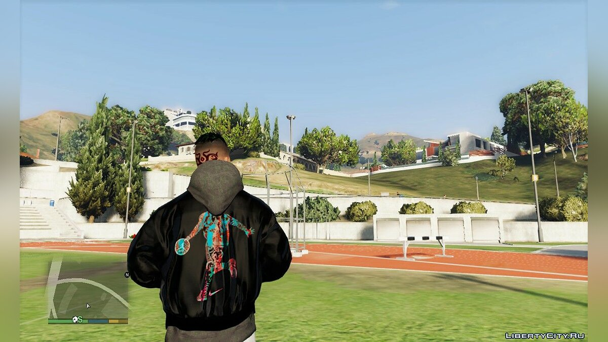 Pullovers and T-shirts Japanese style bomber jacket for GTA 5