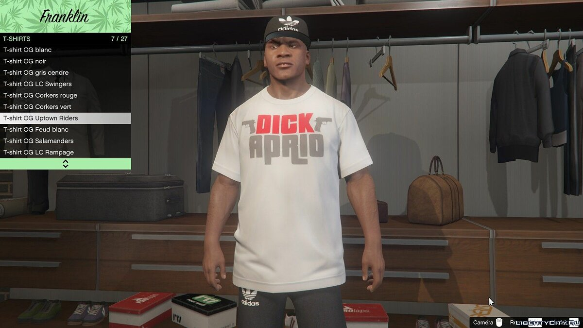 Pullovers and T-shirts T-shirt by Dick Aprio for GTA 5