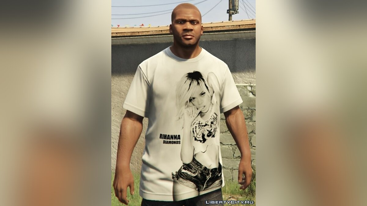 Pullovers and T-shirts Franklin - Hip Hop T-Shirt Pack for GTA 5