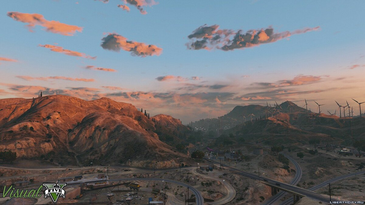 ENB mod VisualV 1.0.340 for GTA 5