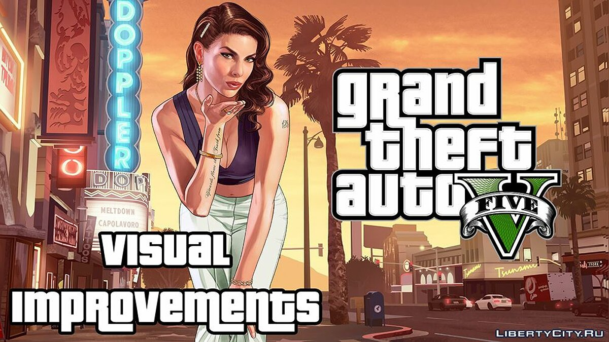 ENB mod Visual Improvements v1.1 for GTA 5