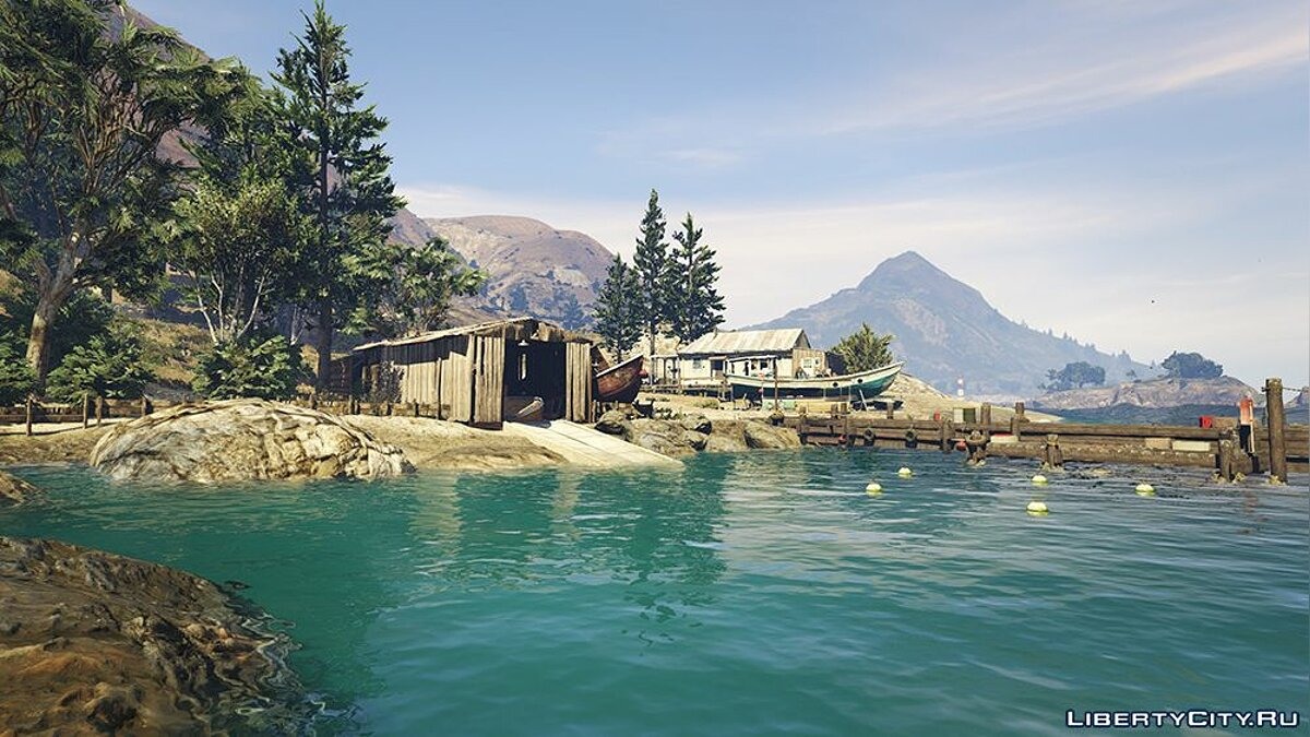 ENB mod Total Visual Overhaul v1.01 for GTA 5