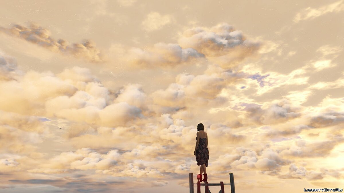 ENB mod New Clouds for Visual V [BETA] 1.0 for GTA 5