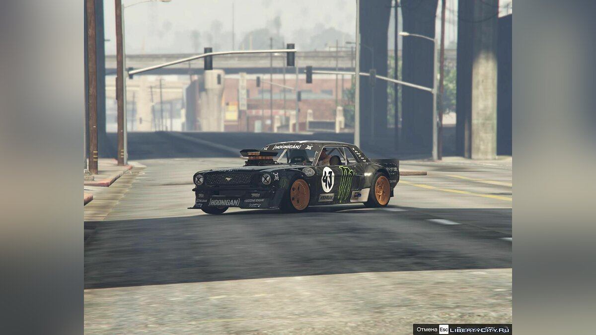 Fan video GYMKHANA 7 GTA 5 COVER for GTA 5
