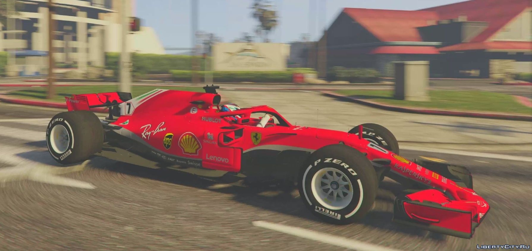 Scuderia Ferrari Sf71 H F1 2018 1 0 For Gta 5