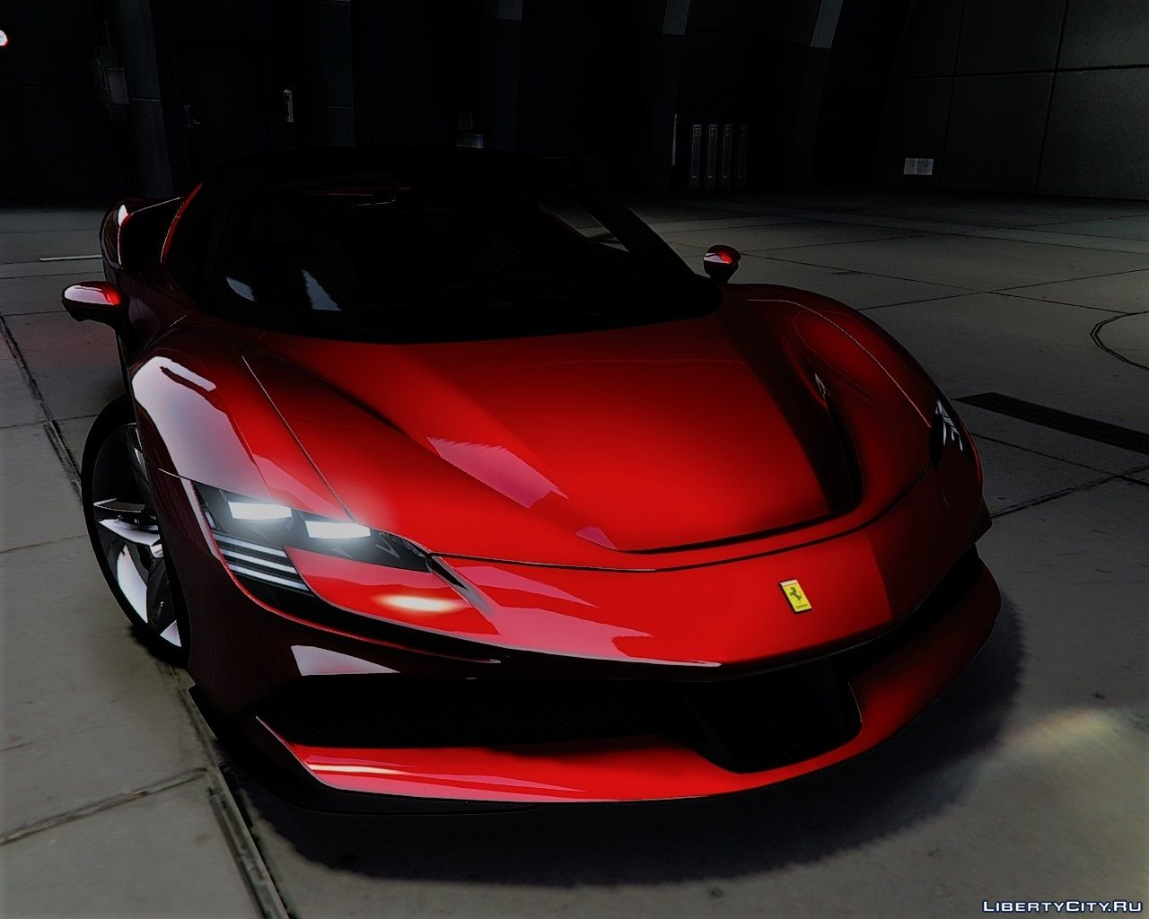 2020 Ferrari Sf90 Stradale Add On Lods Template 1 1 For Gta 5