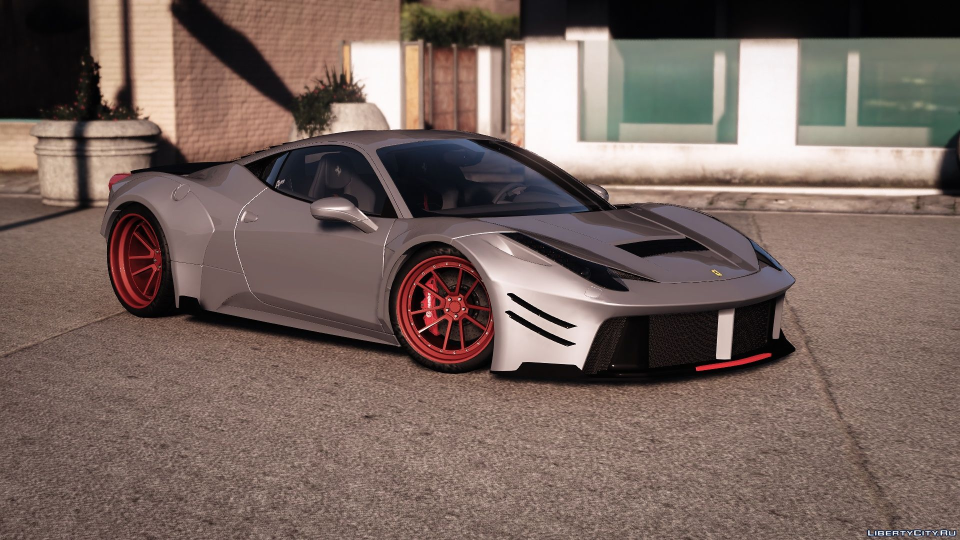 Prior Design Ferrari 458 Widebody Add On Tuning Liveries 1 3 For Gta 5
