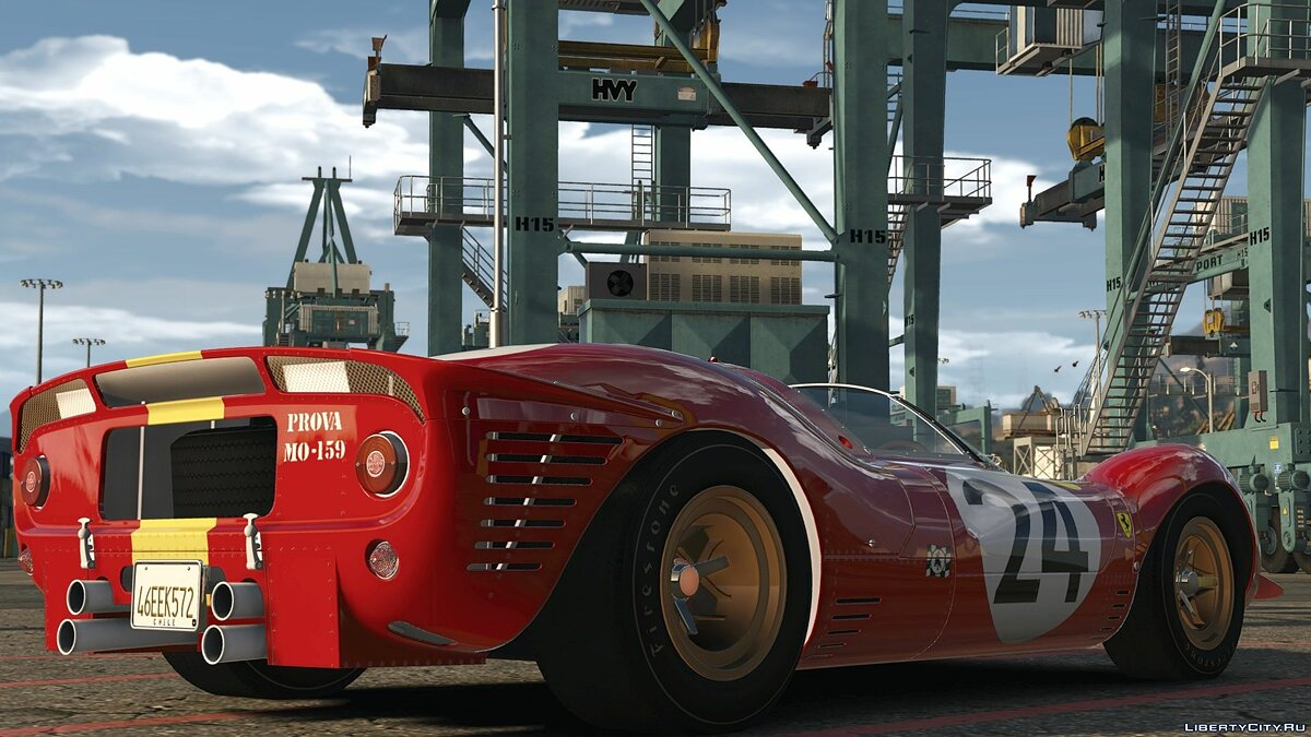 Ferrari car 1967 Ferrari 330 P4 [Add-On | LODs | Template | RHD] 1.0 for GTA 5