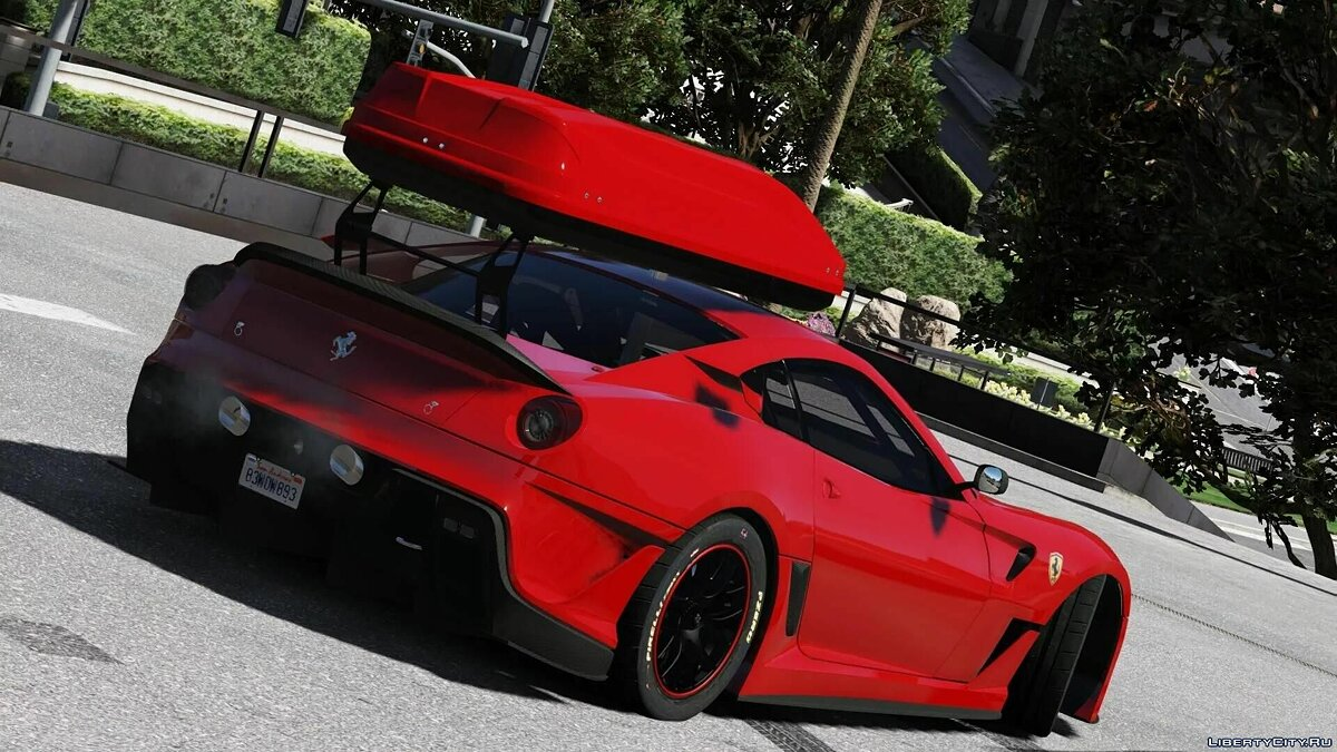 Ferrari car Ferrari GTO 599XX [Add-On] 1.0 for GTA 5