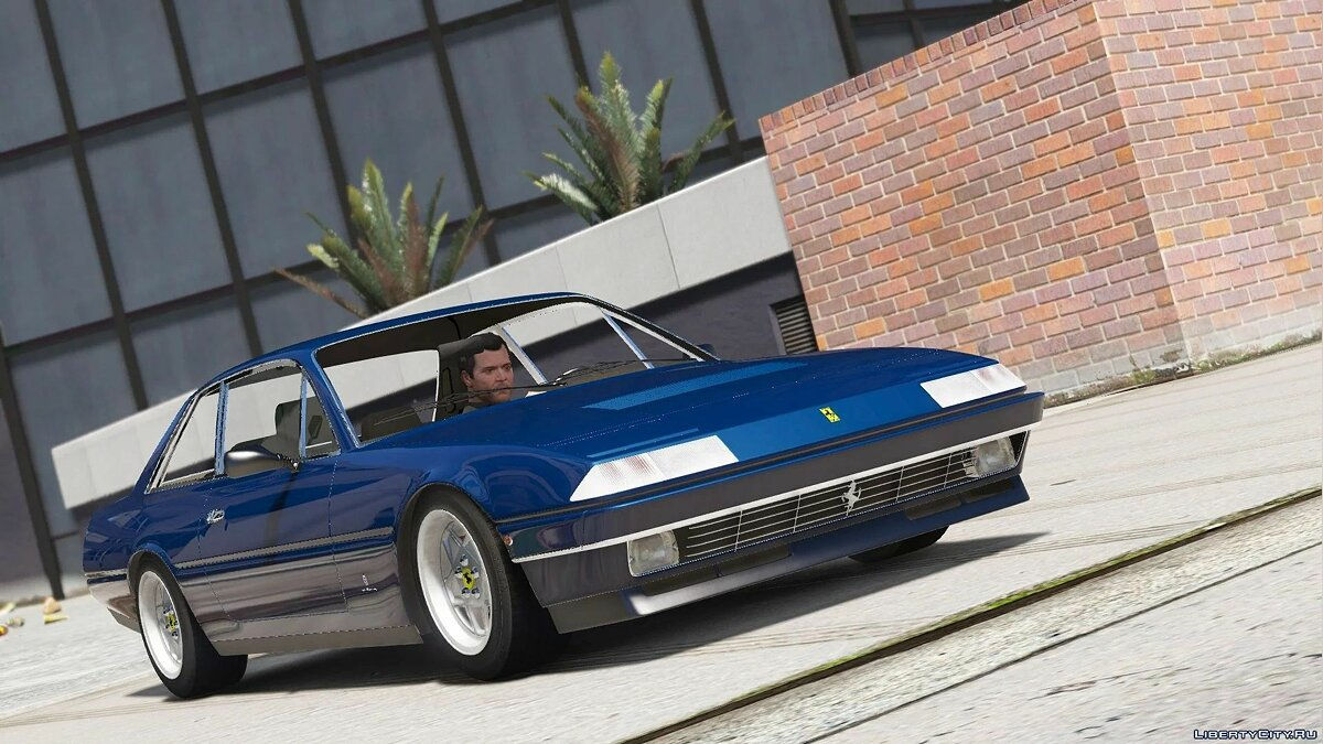 Ferrari car Ferrari 412 1985 [Add-On] 3.0 for GTA 5